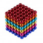 НеоКуб 5мм (разноцветный 6 цветов), 216 элементов