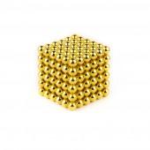 НеоКуб 3мм (золотой), 216 элементов