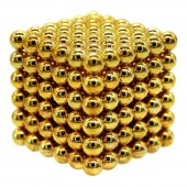 НеоКуб 6мм (золотой), 216 элементов