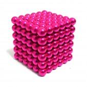 НеоКуб 5 мм (розовый), 216 элементов
